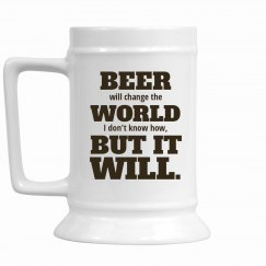 Change Things With Beer