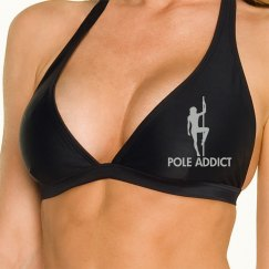 Pole Addict Top with text