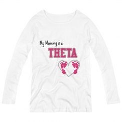 Mommy Theta Maternity Top