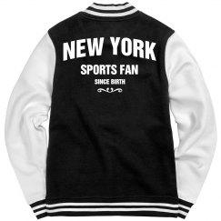 New York sports fan since birth
