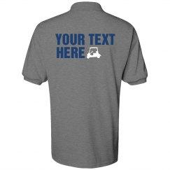 Golf Shirt Back - Mr.Gray
