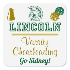 Lincoln Varsity Cheerleading Magnet_Item30C-11