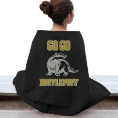 go go hufflepuff blanket