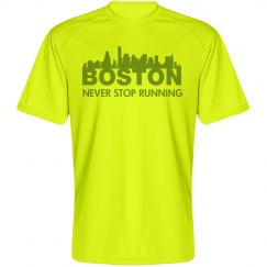 Never Stop Running Boston