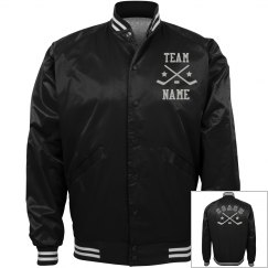 Personalized Ice Hockey Coach Team Jacket