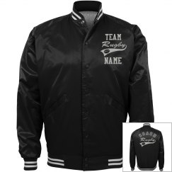 Personalized Rugby Coach Team Jacket
