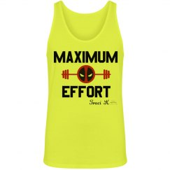Mens Maximum Effort Tank by Traci K Collection