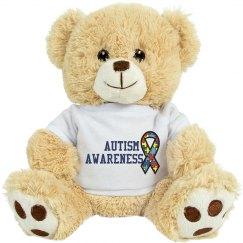 Autism Awareness Bear