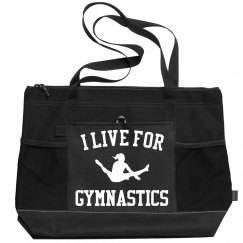Cute & Custom I Live For Gymnastics