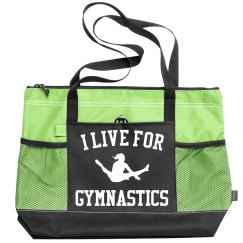 Cute & Custom I Live For Gymnastics