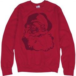 A Vintage Santa Sweater