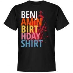 Benjamin birthday shirt