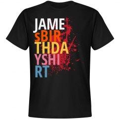 James Birthday shirt