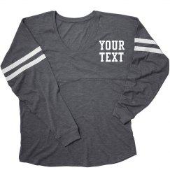 Create your Comfy V-Neck Slub Jersey