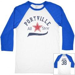 Baseball All Star w/ Back