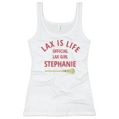Official Lax Girl Long Sleeve Shirt