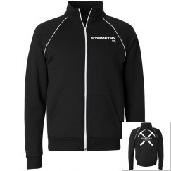 Mens/Ladies Fleece Zip Up Track Jacket