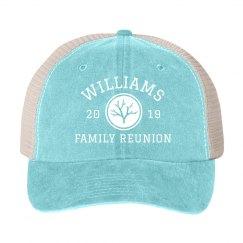 Custom Year & Family Reunion Group Hats