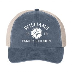 Custom Year & Family Reunion Group Hats