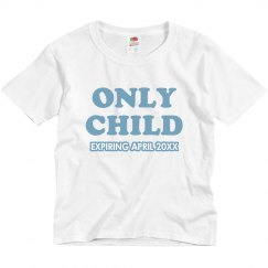 Only Child Blue
