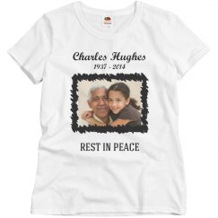 Rest In Peace Custom Grandparent Shirt