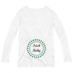 Irish Baby St Patricks Maternity Top