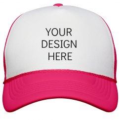 Custom Neon Party Hats For Spring Break