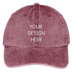 Create Your Design Dad Cap Aesthetic