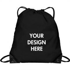 Personalized Your Design Drawstring Cinch Bag