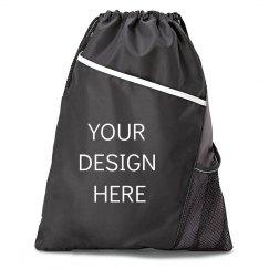 Upload Your Design Drawstring Cinch Bag