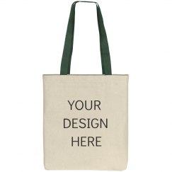 Add Your Design Canvas Tote Bag