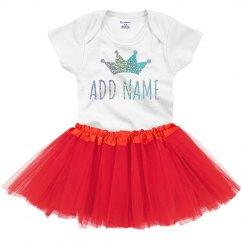 Custom Name Sparkle Glitter