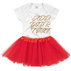 Custom Metallic Design For Baby
