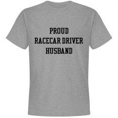 Proud Racecar Driver Husband