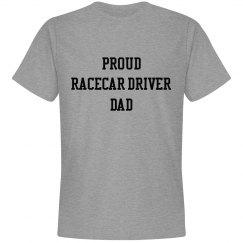 Proud Racecar Driver Dad