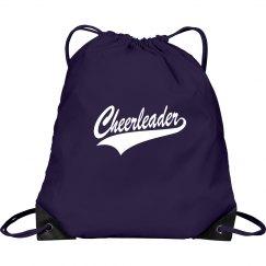 Purple cheerleader bag