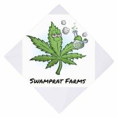 Swamprat Farms dog bandana