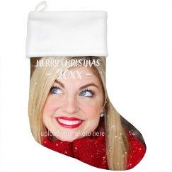 Christmas Photo Custom Stocking