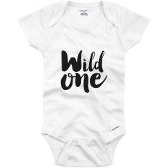 Wild One Birthday Bodysuit