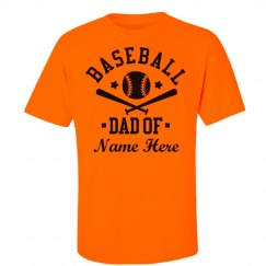 Custom Baseball Dad Fan Gear
