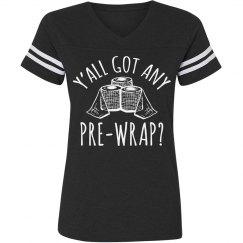 Got Pre-Wrap Soccer Girl Probs