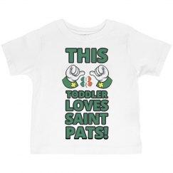 This Toddler Love St Patricks