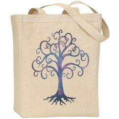Twilight Tree Large Bag