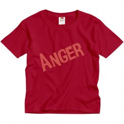 Kids Anger Costume