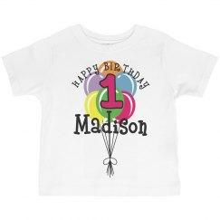 1 year old! Madison
