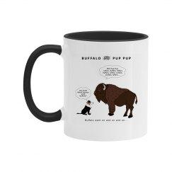 Buffalo & Pup Pup Mug