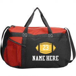 Official Football Team Bags With Custom Names