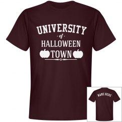 Custom Maroon Halloween Town