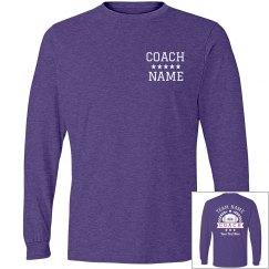 Custom Coach Football Team Shirt