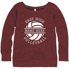 High School Custom Volleyball Sweater